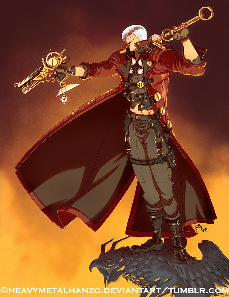 Steampunk Dante by HeavyMetalHanzo
