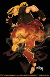 Street Fighter V Ken by HeavyMetalHanzo