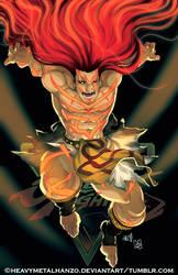 Street Fighter V Necalli by HeavyMetalHanzo
