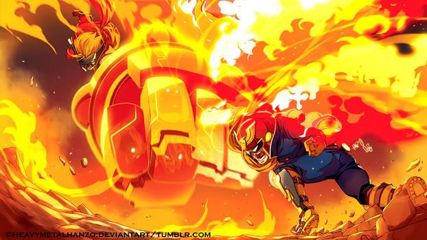 Wonder Punch VS Falcon Punch