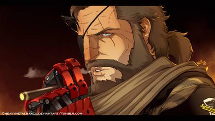 The Phantom Pain- Venom Snake by HeavyMetalHanzo