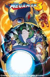 Mega Man 3 by HeavyMetalHanzo