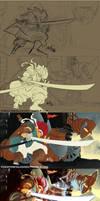 Chrono Trigger-Crono Versus the Dragon  tutorial