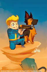 The Adventures of Vault Boy and Dogmeat