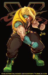 Street Fighter V Charlie by HeavyMetalHanzo