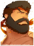 Street Fighter V-Bearded Ryu