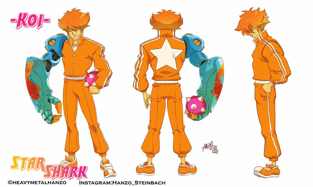 StarShark-Koi colored by HeavyMetalHanzo