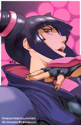 Street Fighter V- Juri Han by HeavyMetalHanzo