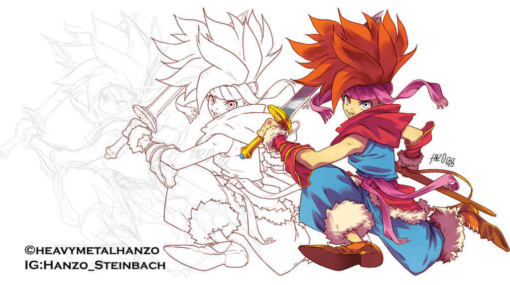 Secret of Mana-Randi process by HeavyMetalHanzo
