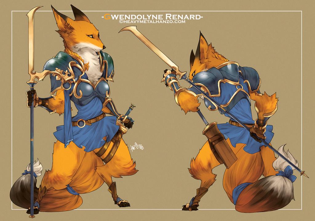Gwendolyne Renard by HeavyMetalHanzo