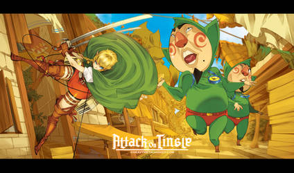 Attack on Tingle by HeavyMetalHanzo