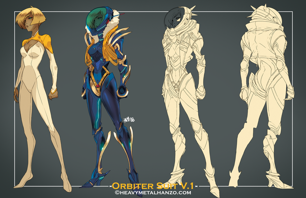 Orbiter Suit V.1 by HeavyMetalHanzo