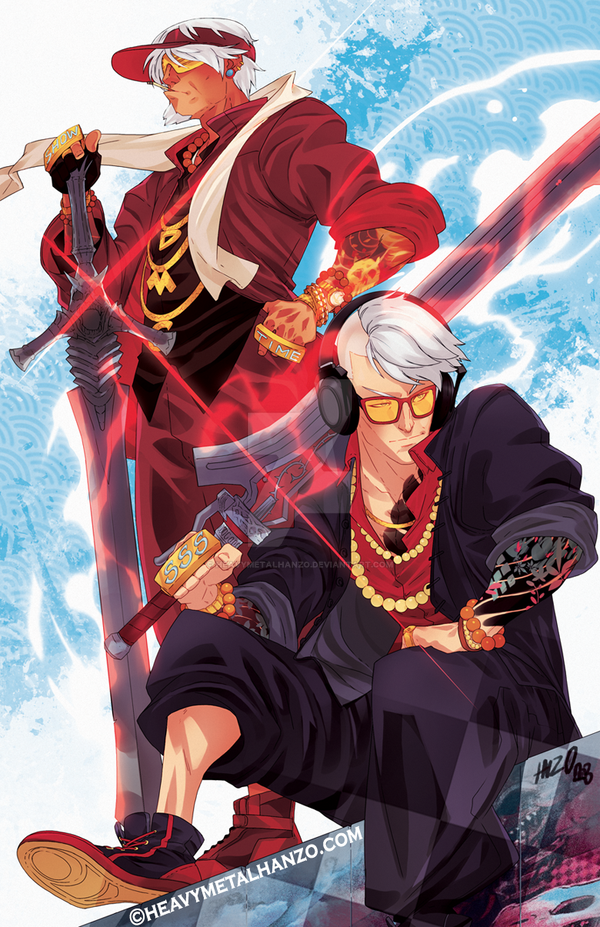 Devil May Cry 4-Celebratin' with Style by HeavyMetalHanzo