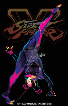 Street Fighter V-Juri