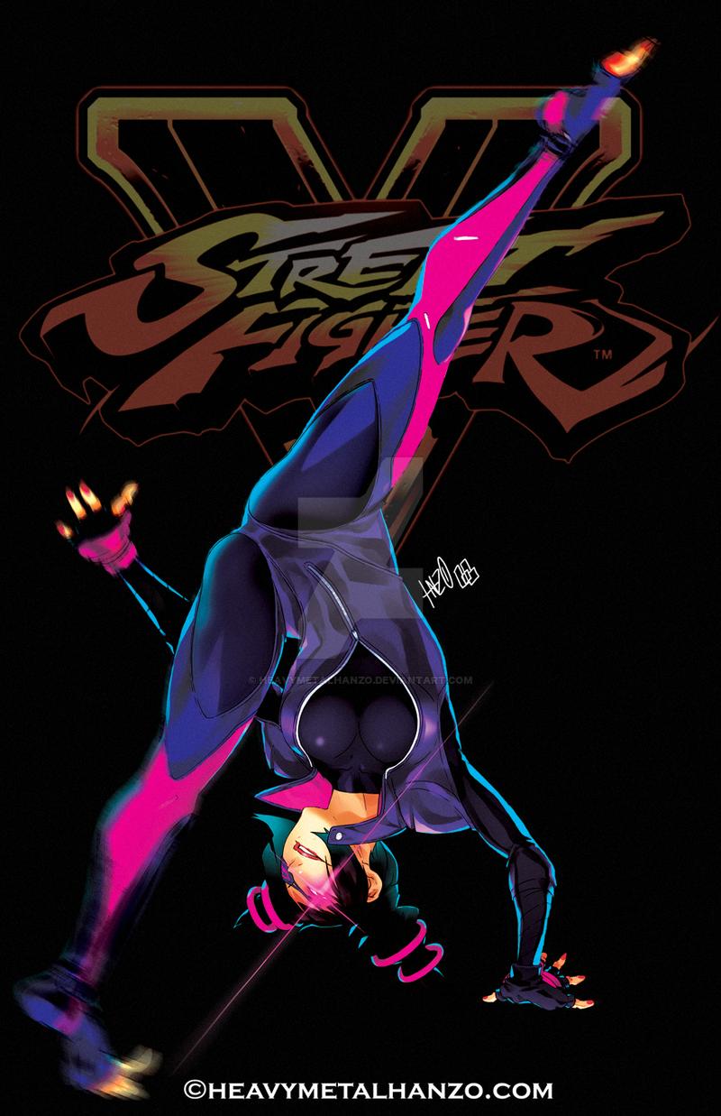 Street Fighter V-Juri by HeavyMetalHanzo