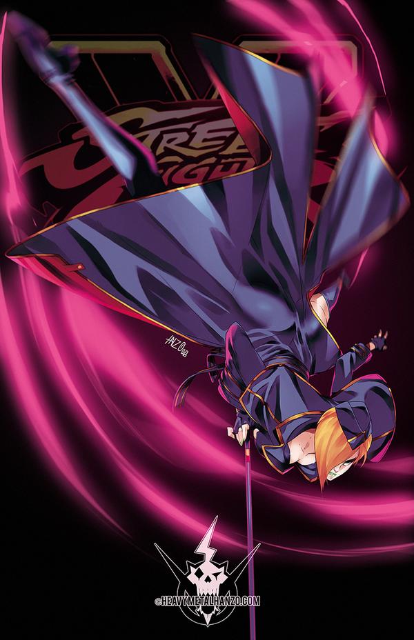 Street Fighter V- Falke by HeavyMetalHanzo
