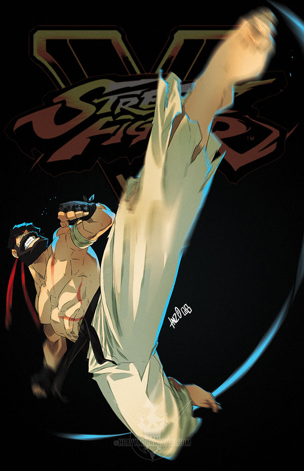 Street Fighter V- Ryu by HeavyMetalHanzo