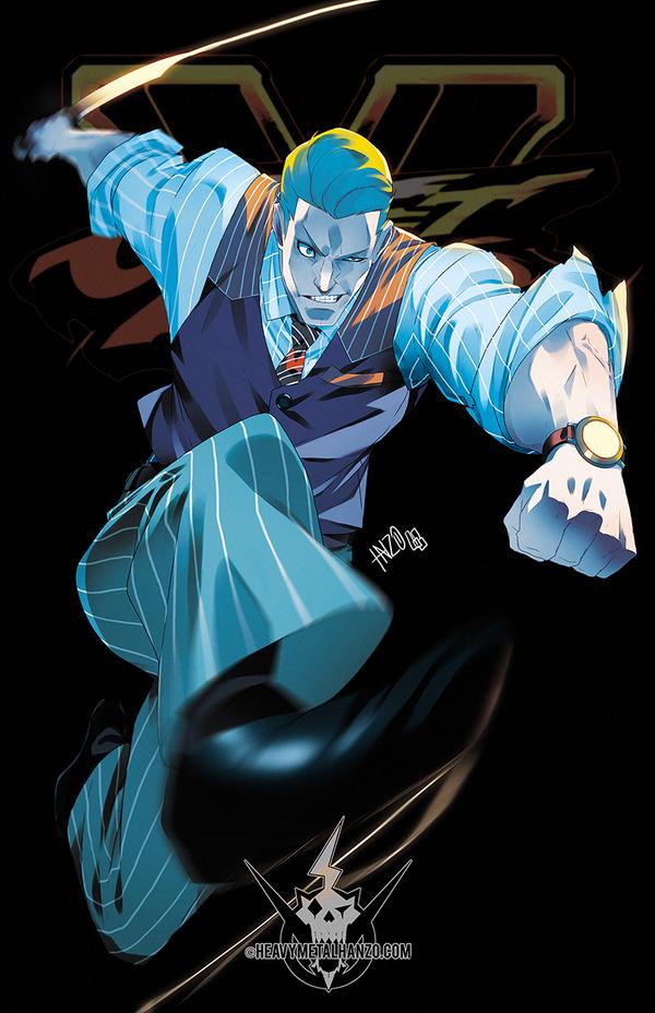 Street Fighter V- Cody by HeavyMetalHanzo