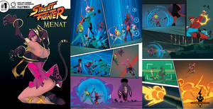 Street Fighter Menat #1 Preview 2
