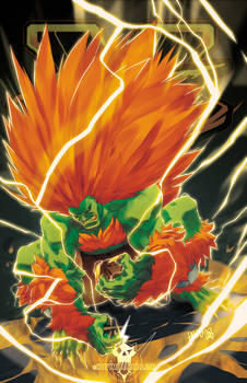 Street Fighter V- Blanka