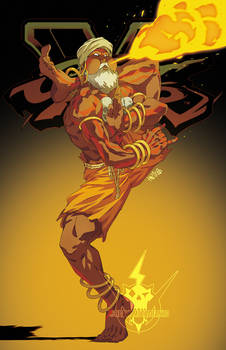 Street Fighter V- Dhalsim