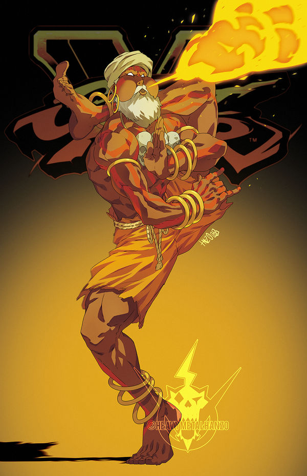 Street Fighter V- Dhalsim