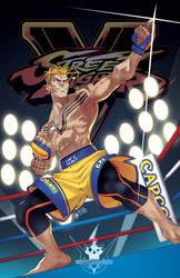 Street Fighter V-Luke by HeavyMetalHanzo