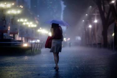 Braving the Night Rain 3