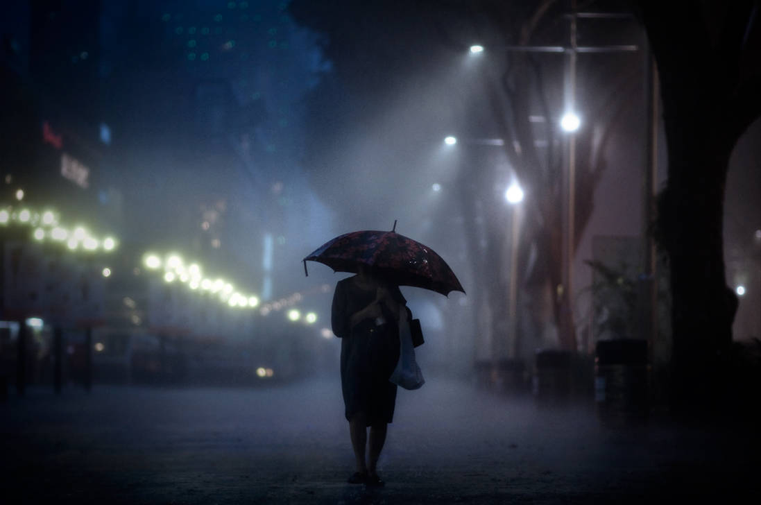 sad rainy night - 1024×680