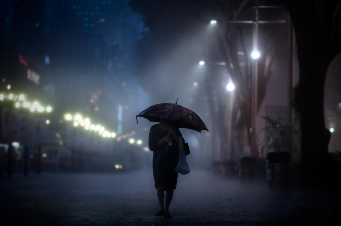 an analysis of a night in the rain Last night the rain spoke to me by mary oliver last night the rain spoke to me slowly, saying, what joy five points: a journal of literature and art is published by.