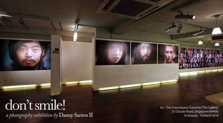 Don't Smile! a photography exhibition