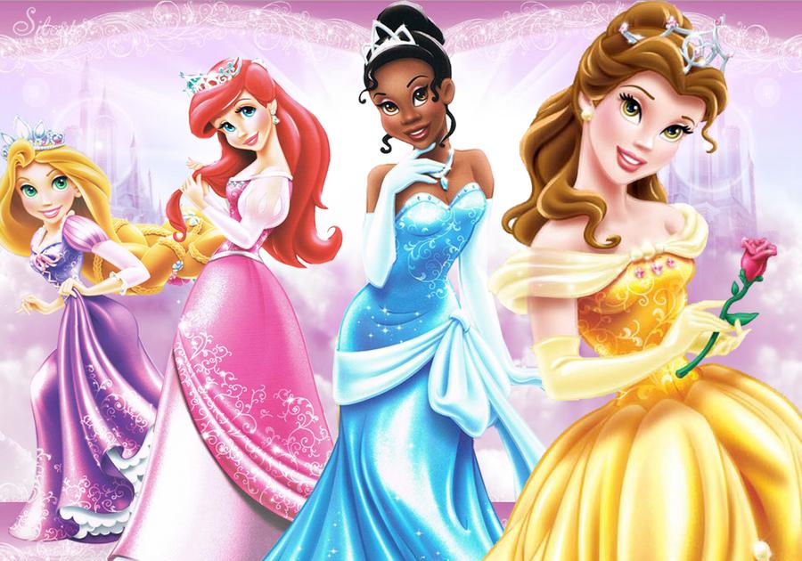 Disney Princesses Metallic Glam By SilentMermaid21 On