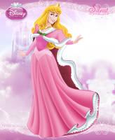 Disney Princesses - Winter Aurora by SilentMermaid21