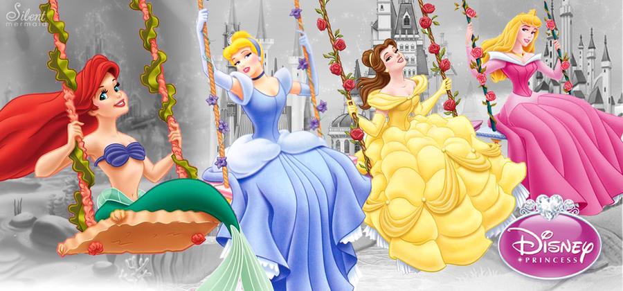 Disney Princesses - Royal Fun by SilentMermaid21
