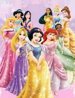 Disney Princesses - Sparkling Sweeties by SilentMermaid21