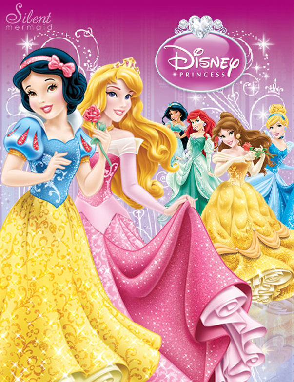 Disney princesses the new design by silentmermaid21