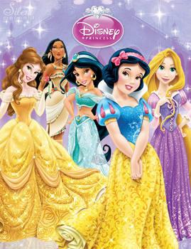 Disney Princesses -  Sparkling Beauties