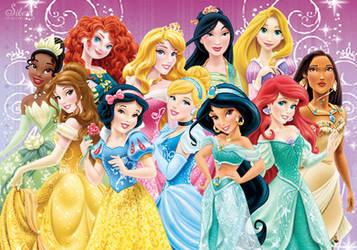 Disney Princesses -  Introduing Merida!