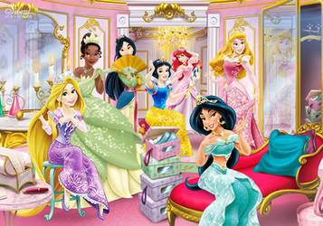 Disney Princesses - Enchanted Room