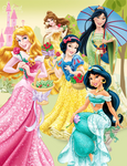 Disney Princesses - Dreams in Bloom