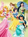 Disney Princesses - Dreams in Bloom