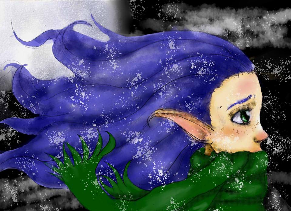 Blair the elf by FuyukoNyaa