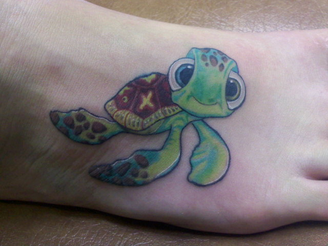 squirt tattoo by cxsr9