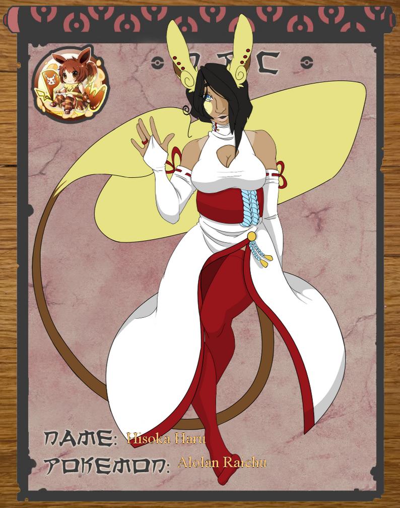 Pokimono: Hisoka Haru by SuchusDeLynn