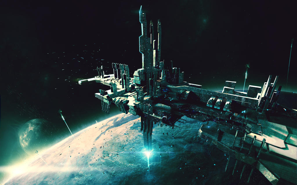 The Magi - Space port by bradwright