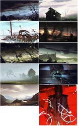 May Speedpaints2 by bradwright