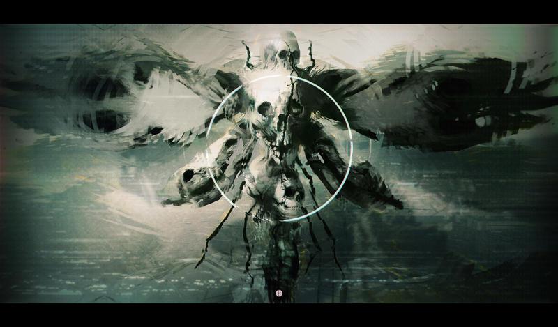 Death Moth by bradwright