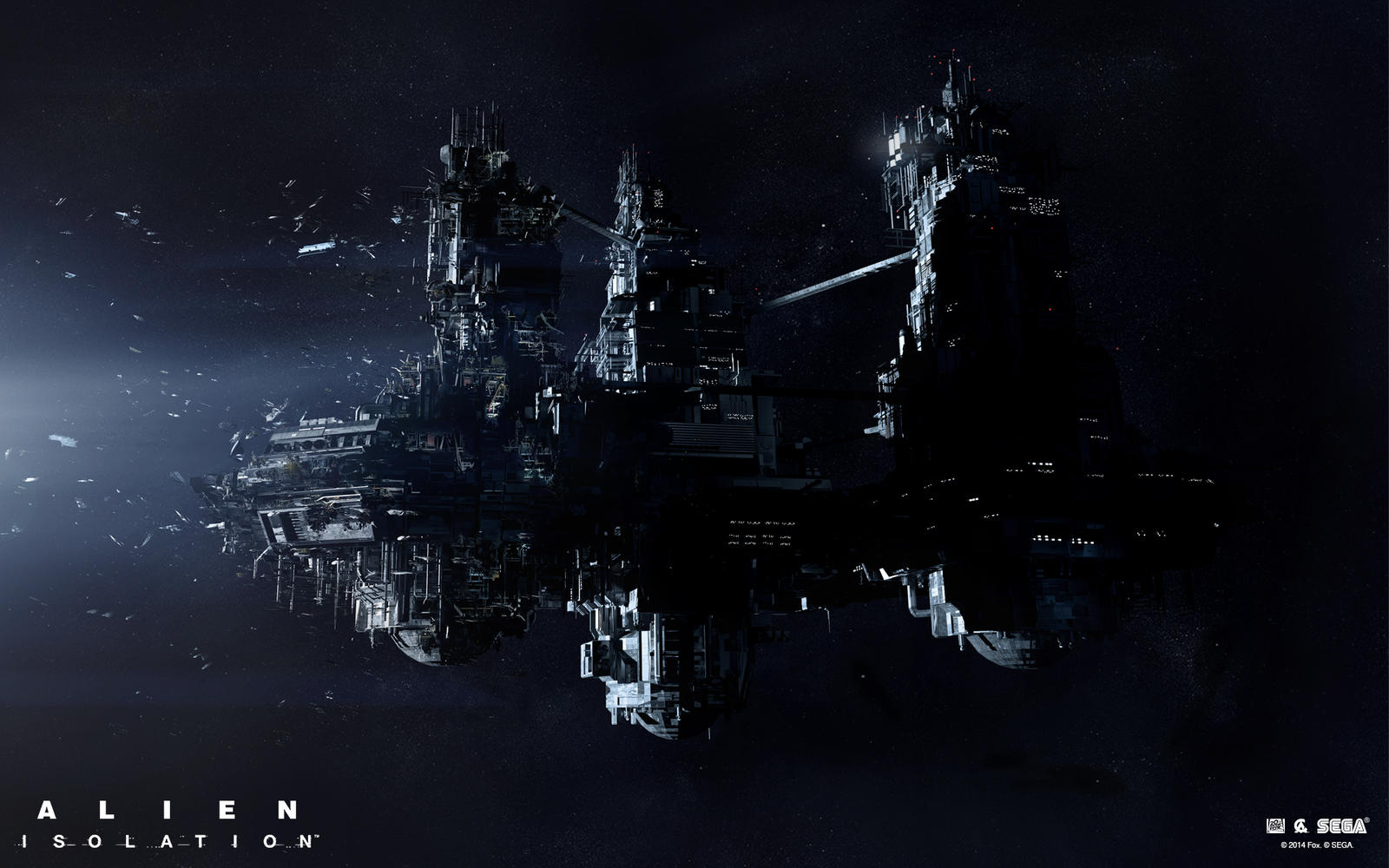 Alien Isolation marketing art by bradwright