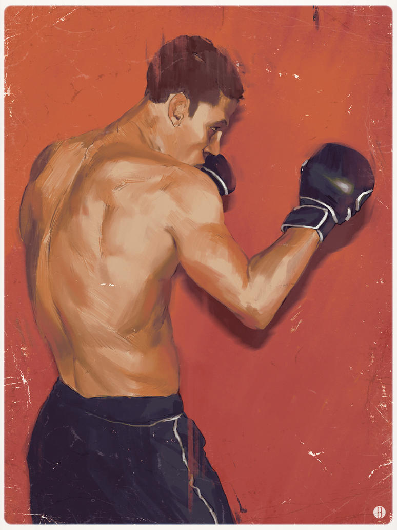 Boxer sketch by bradwright