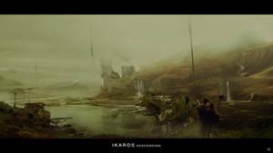 Ikaros Descending 03 by bradwright